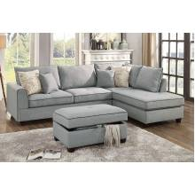 3-Pcs Sectional Sofa F6543