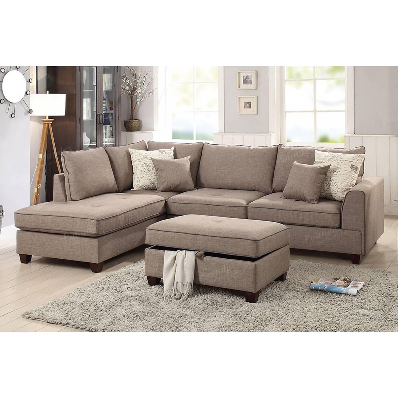 3 Pcs Sectional Sofa F6544