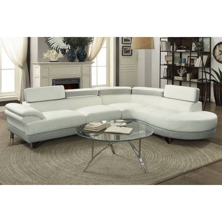 2-Pcs Sectional Sofa F6967