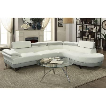 2-Pcs Sectional Sofa F6967