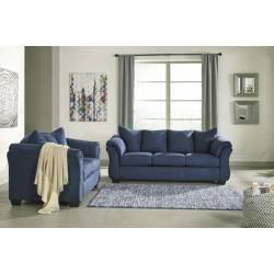 75007 Darcy 2PC SETS Sofa + Loveseat