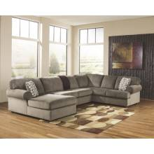 39802 Jessa Place Sectionals (RAF Sofa + Armless Loveseat + LAF Corner Chaise)