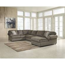 39802 Jessa Place Sectionals (LAF Sofa + Armless Loveseat + RAF Corner Chaise)