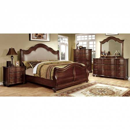 BELLAVISTA 4PC SETS Queen BED (High Footboard Bed)