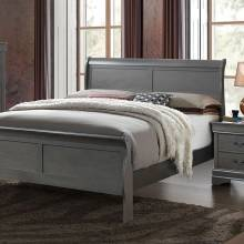 LOUIS PHILIPPE III Full BED Gray