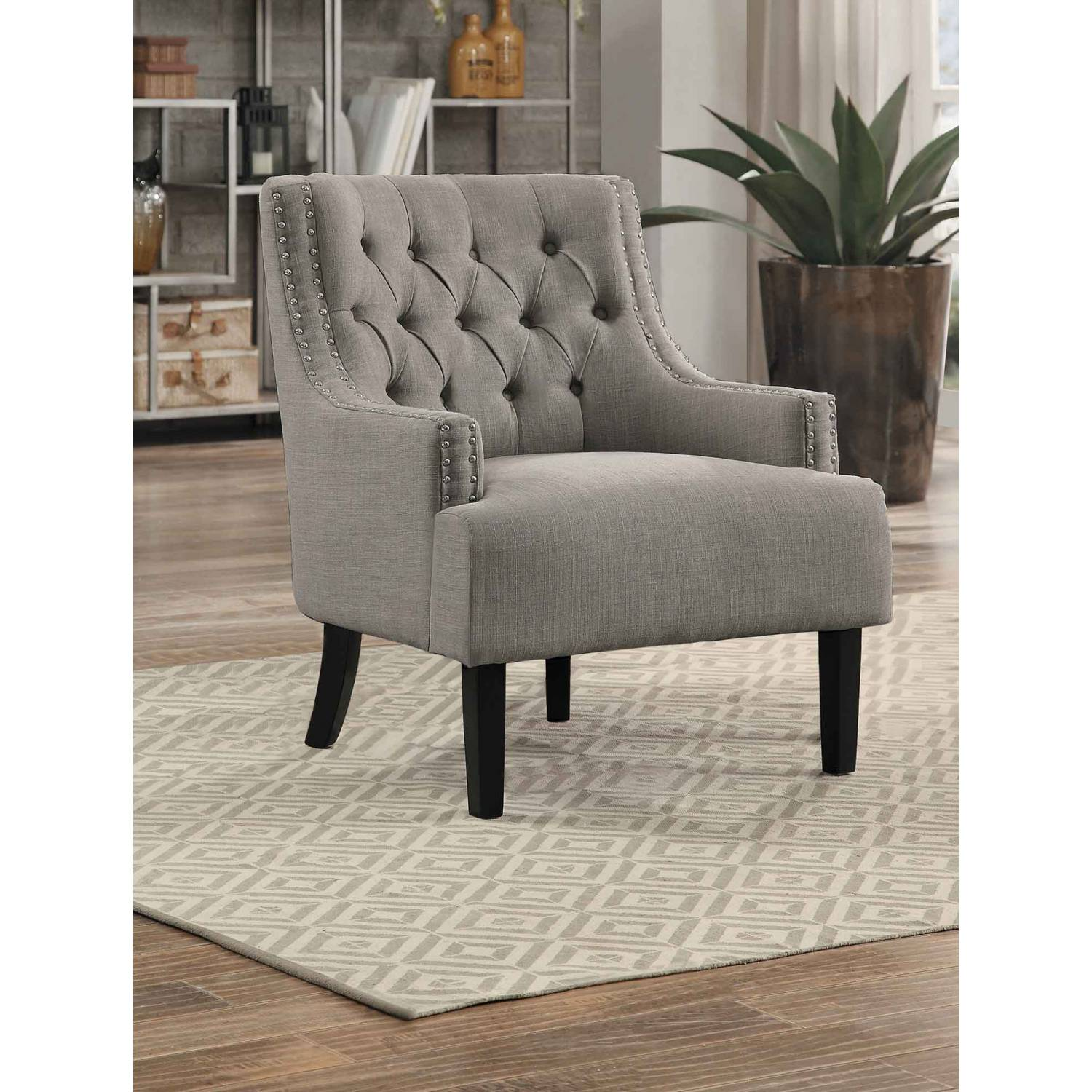 Outstanding Charisma Accent Chair Indigo Gmtry Best Dining Table And Chair Ideas Images Gmtryco