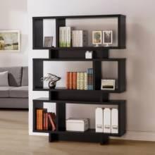 Bookcases Contemporary Geometric Bookcase