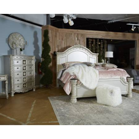 B750 Cassimore 4PC SETS Queen Panel Bed + Dresser + Mirror + Night Stand