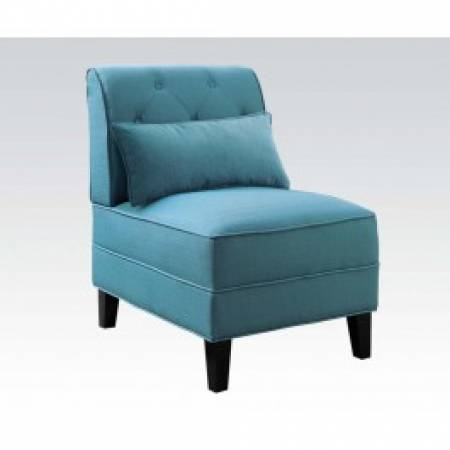 59610 TEAL ACCENT CHAIR