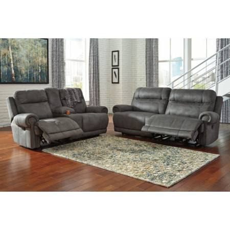 38401 Austere 2PC SETS Reclining Sofa + Loveseat