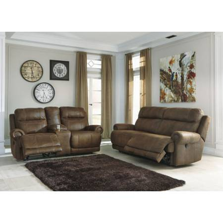 38400 Austere 2PC SETS Reclining Sofa + LOVE SEAT