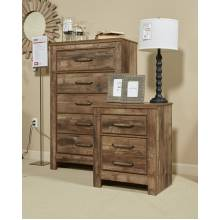 B224 Blaneville Two Drawer Night Stand