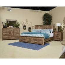 B224 Blaneville King Sleigh BED
