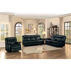 JUDE Sofa Group 3 Pc set Black
