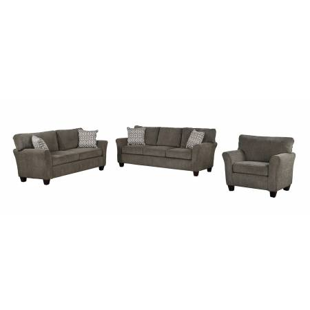 ALAIN Sofa Group 3 Pc Grey