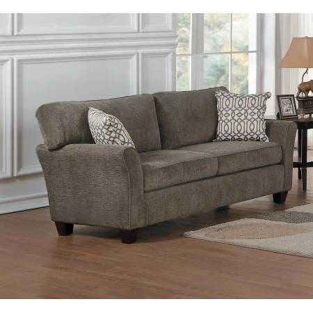 ALAIN Love Seat Grey