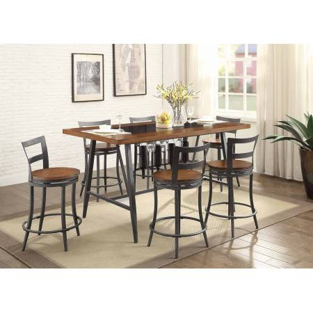 SELBYVILLE Group 7 Pc Dining set Cherry
