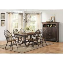 CLINE Group 9 Pc Dining set Traditional
