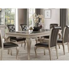 CRAWFORD Dining Table Silver