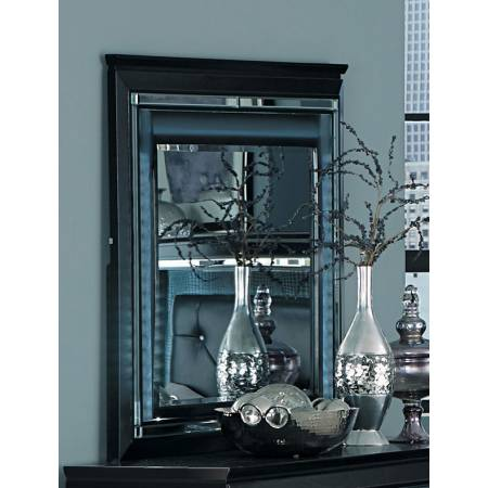 ALLURA Mirror, LED Lighting Black