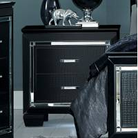 ALLURA Night Stand, LED Lighting Black