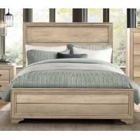 LONAN Queen Bed Rustic