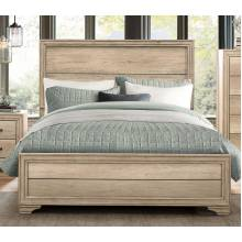 LONAN Queen Bed Rustic