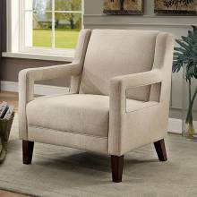 SAMIA ACCENT CHAIR Ivory