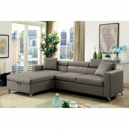 DAYNA SECTIONAL Gray