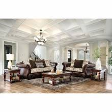 ALESSIO 2PC SETS SOFA + LOVE SEAT Brown