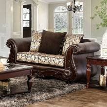 ALESSIO LOVE SEAT Brown