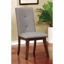 ABELONE SIDE CHAIR (2/BOX) Walnut Finish