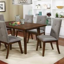 ABELONE DINING TABLE Walnut Finish