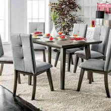 ABELONE RECTANGULAR TABLE Gray Finish