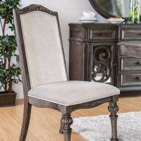 ARCADIA SIDE CHAIR (2/BOX) Rustic Natural Tone