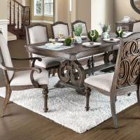 ARCADIA DINING TABLE Rustic Natural Tone