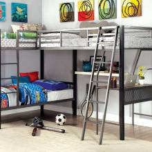 BALLARAT L-SHAPED TRIPLE TWIN BUNK BED