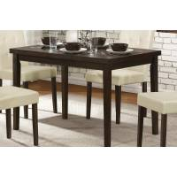Ahmet Dining Table - Espresso