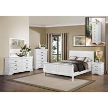 Mayville Bedroom 5 Pc Set - White (QB+2NS+DR+MR)