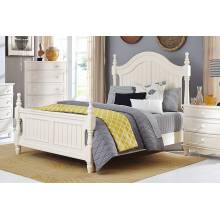 Clementine California King Bed - White
