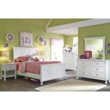 B502 Kaslyn Twin Panel Bedroom Sets 4 Piece