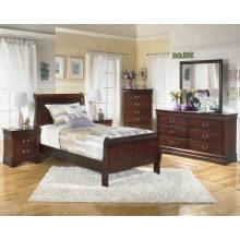 B376 Alisdair Twin Sleigh Bedroom Sets 4 Piece