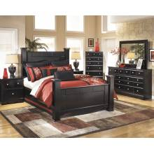 B271 Shay Queen Poster Bedroom Sets 4 Piece