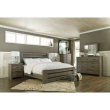 B248 Zelen King Poster Bedroom Sets 4 Piece