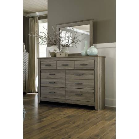 B248 Zelen Dresser+Bedroom Mirror