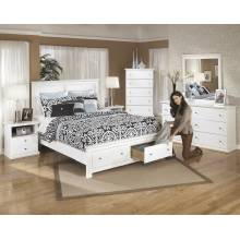 B139 Bostwick Shoals One Drawer Night Stand