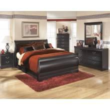 B128 Huey Vineyard Full Sleigh Bed