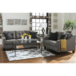 53901 Brindon 2 pc Sofa + Loveseat