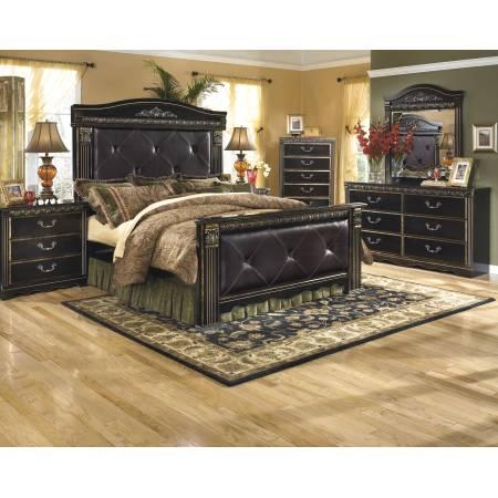 B175 Coal Creek King Mansion Bedroom Sets 4 Piece