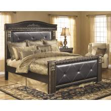 B175 Coal Creek King Mansion Bed (HDBD Legs/Crown ASSY)